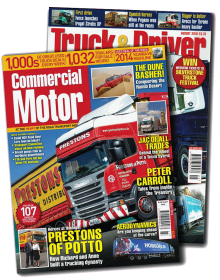 Commercial Motor & Truck and Driver magazine
